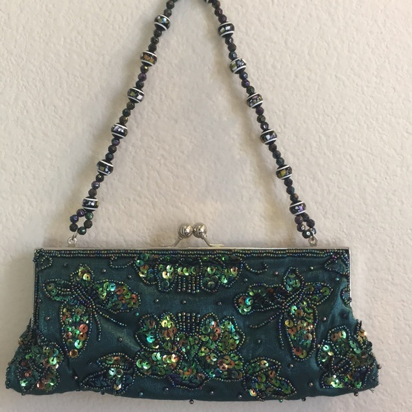 Apt. 9 Handbags - 💋3/$15  Apt 9 Gorgeous Green  Evening Purse NWOT